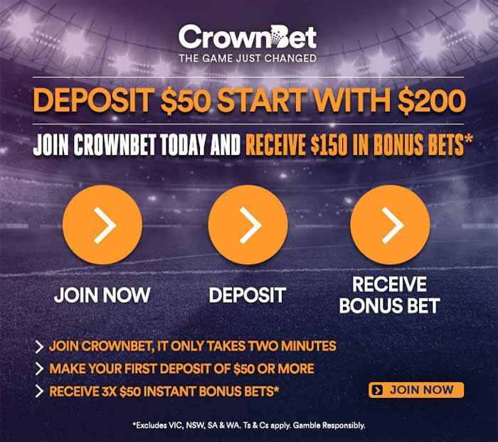 CrownBet Bonus