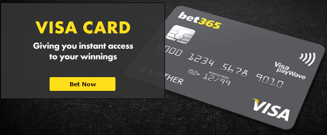 bet365 visa card