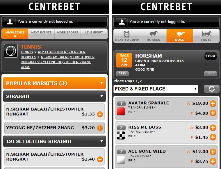 centrebet-app