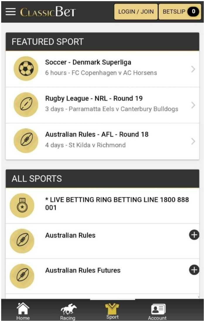 classicbet-sports-app