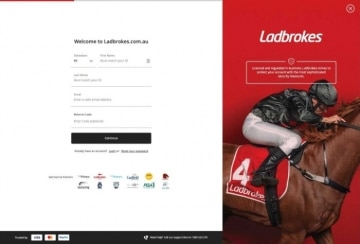 ladbrokes registration form