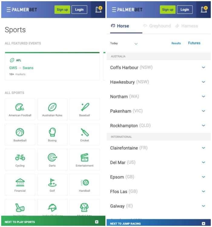 palmerbet sports betting app