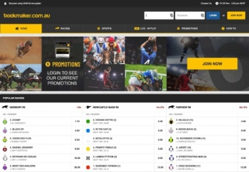 bookmaker home page