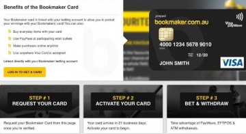 bookmaker card