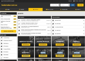 bookmaker sports betting offer