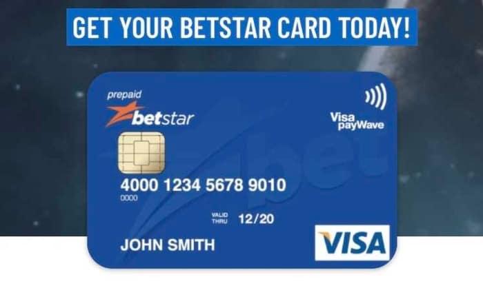 betstar card
