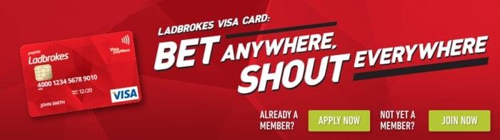 ladbrokes visa card
