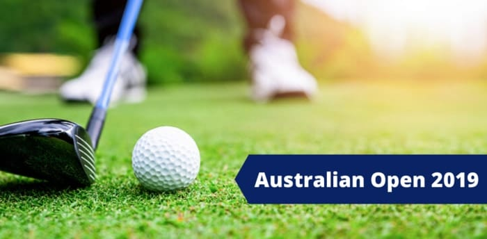 betting on australian open golf 2019