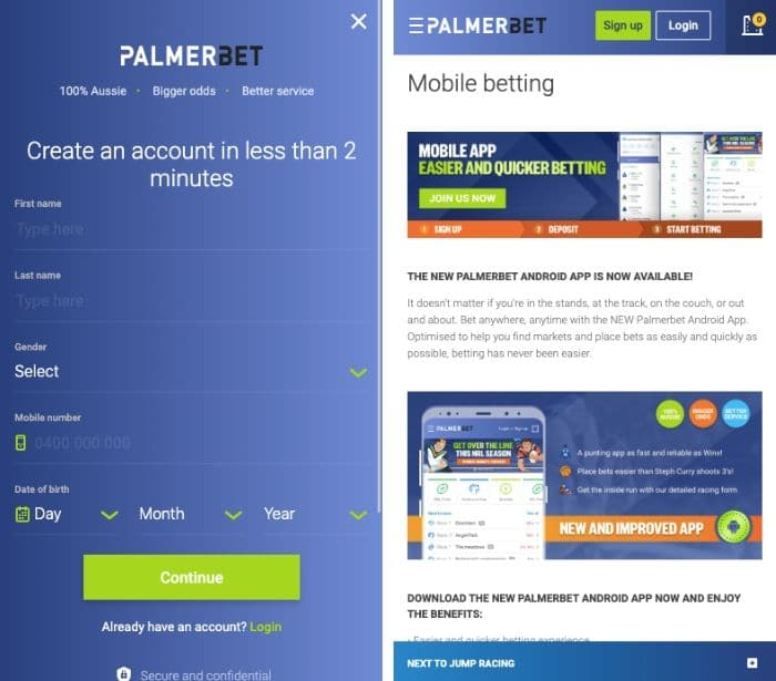 download palmerbet app