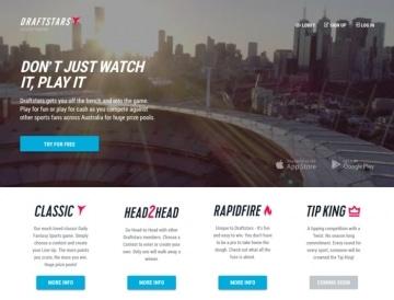 draftstars homepage