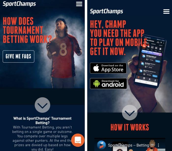 sportchamps mobile app