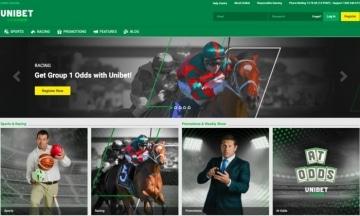 unibet australia homepage