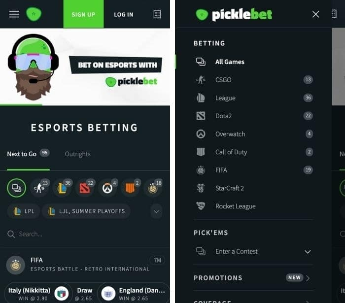 picklebet app