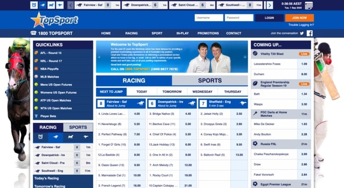 sportbet homepage