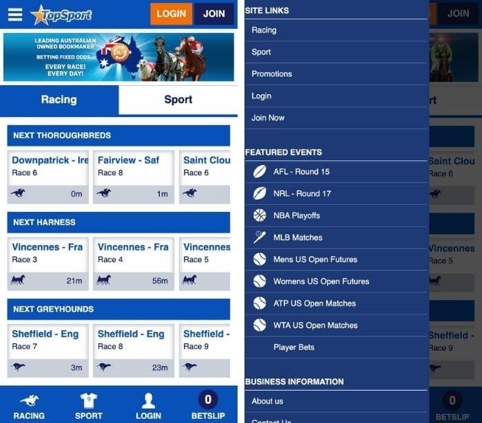 topsport app