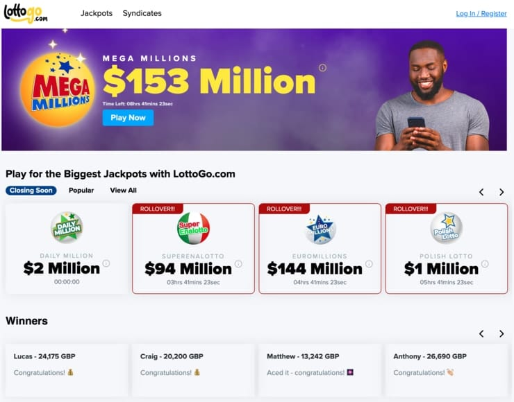 lottogo homepage