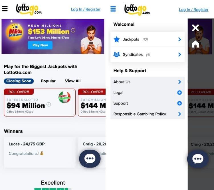 lottogo mobile app