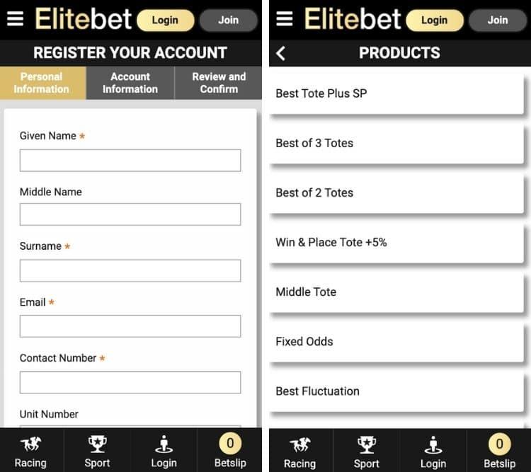 elitebet app sign in