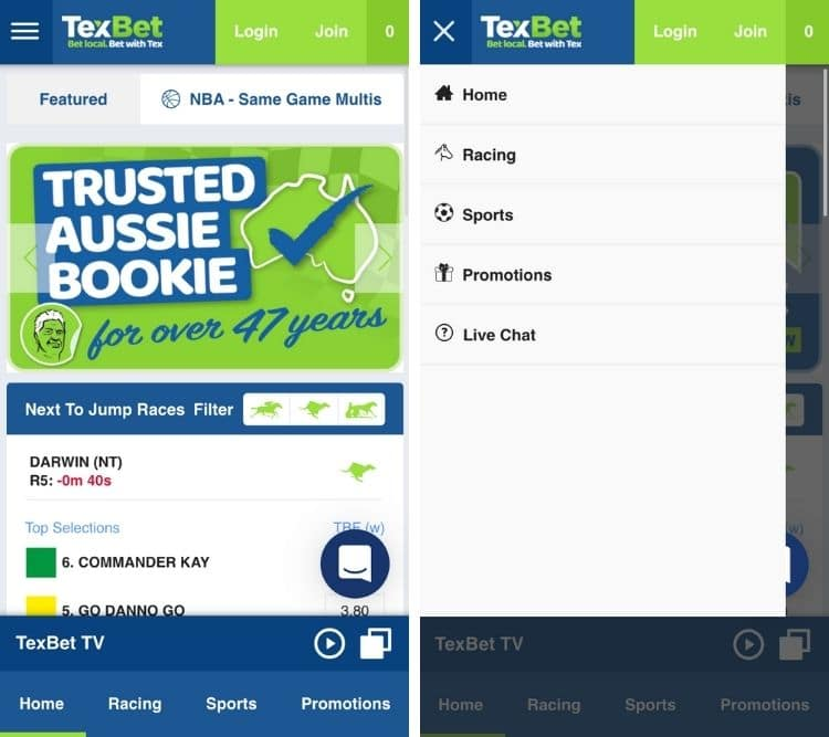 texbet app home page