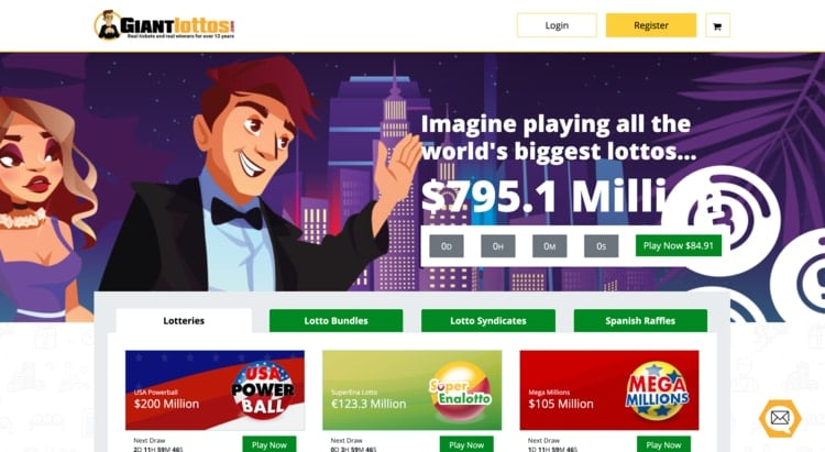 giant lottos homepage