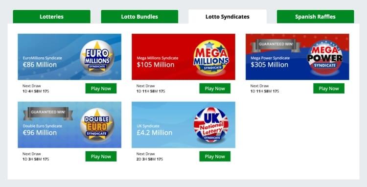 giant lottos syndicates